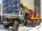 Фото в   Лесовоз Урал 55571-60М с манипулятором Омтл-97 в Салехарде 3987000