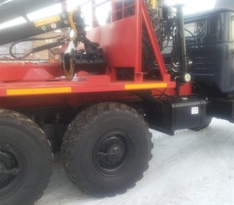 Фото в Лесотехника Лесовоз (сортиментовоз) Лесовозный автопоезд на базе автомобиля Урал в Миассе 3597000