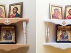 Свежее фотографию Другие предметы интерьера Полка для икон угловая 39116692 в Минске