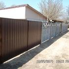 Бетонные заборы, тротуарная плитка, ворота, калитки