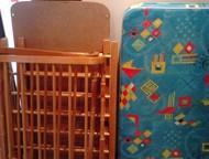 детская кроватка Продам детскую кроватку с матрацем б/у в хорошем состоянии. тел