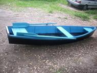 деревянная лодка Изготовления деревянных лодок. Материал-сухая хвоя, покрашены,
