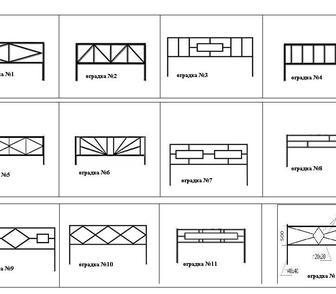 Фотография в Строительство и ремонт Строительные материалы Ритуальные ограды изготавливаются и профильной в Мосальске 840