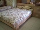 Фотография в Мебель и интерьер Мебель для спальни Кровать из настоящего дуба с оротпедическим в Москве 43000