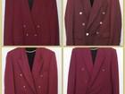 Новое изображение Мужская одежда Малиновый пиджак 90-х и другие вещи из 90х в аренду, на прокат 37524292 в Москве