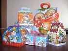 Увидеть фото Разное Сладкие новогодние подарки для детей от Podarki, Market 39536999 в Москве