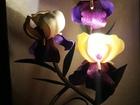 Смотреть foto  светильник, большие цветы, изолон, фоамиран, ночник 68491442 в Moscow