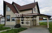 Продам дом недорого, навес для авто на 15 сотках у озера в Калужской области