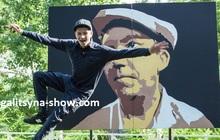 Танцующий художник и составные картины в Москве