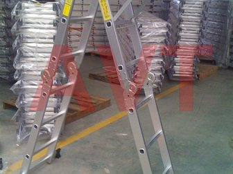 Просмотреть foto Ремонт, отделка Предлагаем алюминиевые лестницы 32450551 в Москве