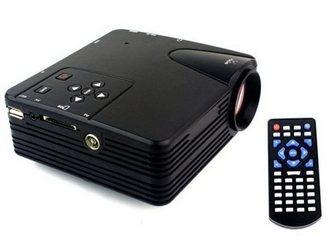 Свежее фотографию Другая техника Мультимедийный мини-проектор мод, H100 ( AV VGA SD USB HDMITV) 32624340 в Москве