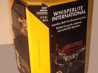 Просмотреть фотографию Товары для туризма и отдыха Многотопливная горелка MSR WhisperLite International 32673941 в Москве