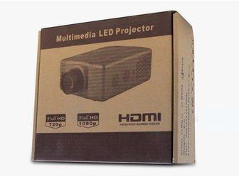 Новое фото  RuiQ SV-856 60W светодиодный мультимедийный 3D-проектор (VGA HDMI AV TV USB) 33318251 в Москве