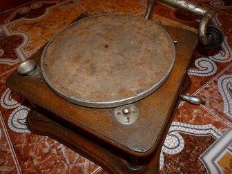 Новое фотографию Антиквариат Продам старинный Граммофон 34520593 в Москве