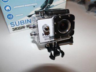 Скачать фотографию Видеокамеры Экшн-камера Subini S22, Новая! 34592461 в Москве