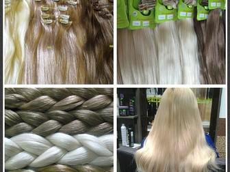 Смотреть фотографию Салоны красоты Волосы на лентах с имитацией роста волос, Натуральные волосы 38467981 в Москве