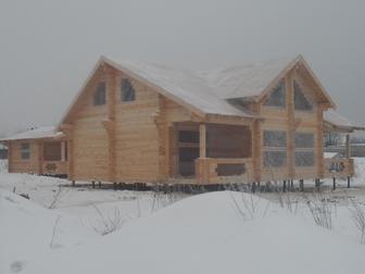 Скачать фотографию Строительство домов Дома из профилированного бруса 59604060 в Moscow