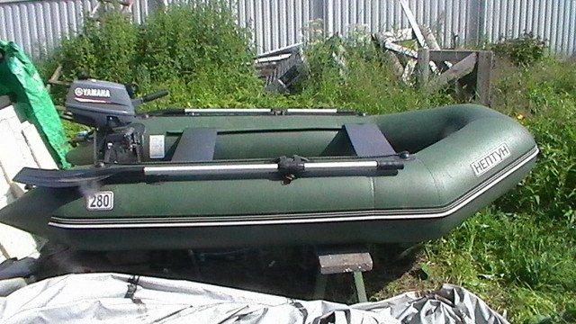 мотор yamaha на резиновую лодку