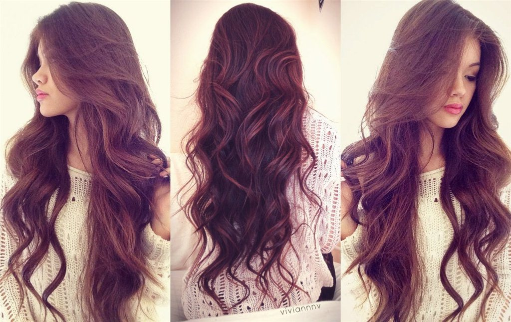 Фото девушек с длинными волосами 18 фотография