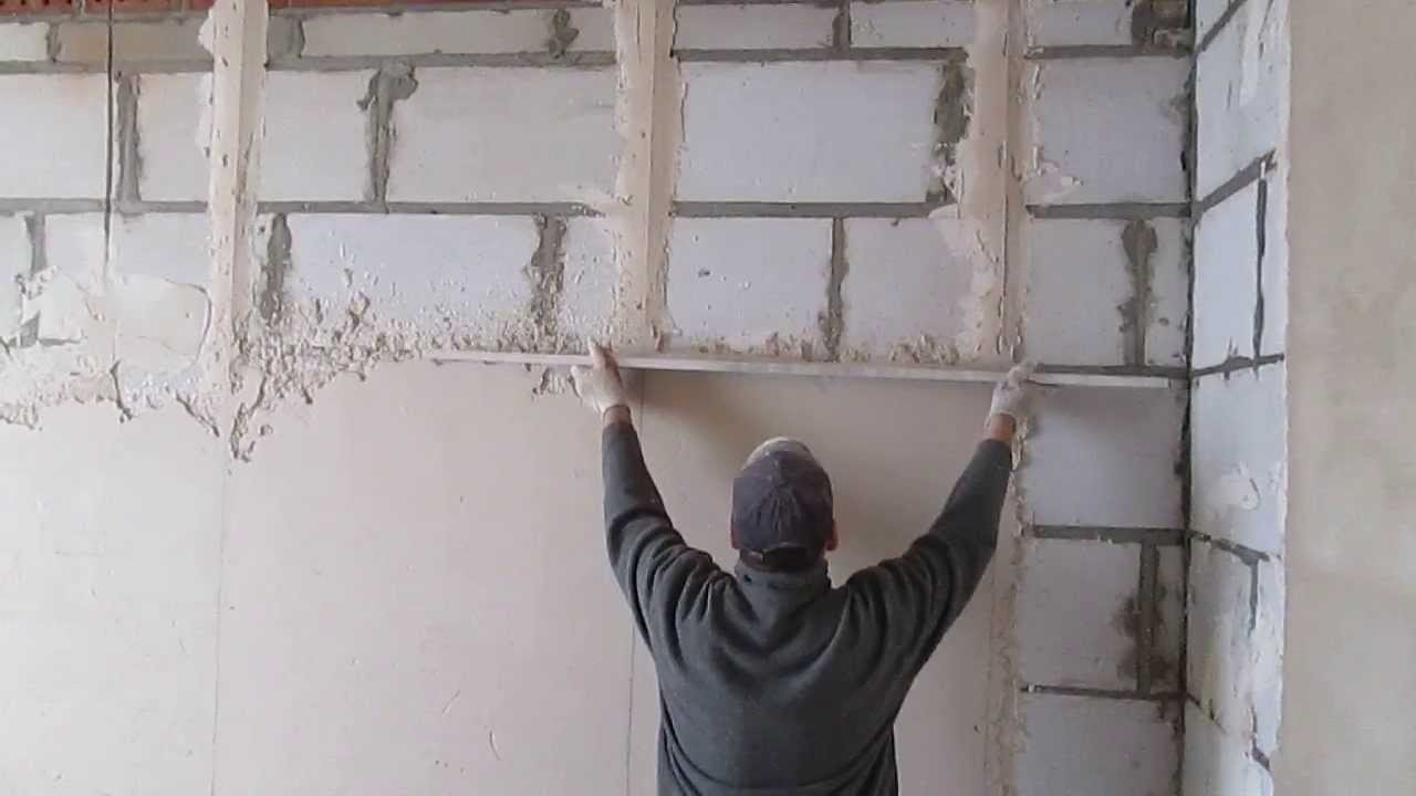 Штукатурка гипсовой стены своими руками