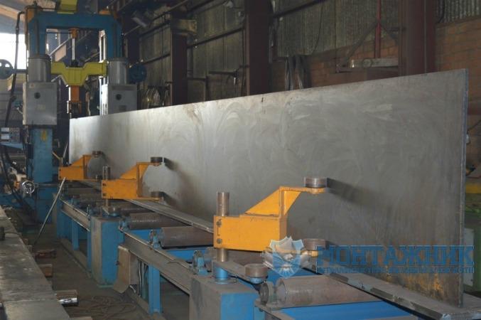 Изготовление двутавровой балки