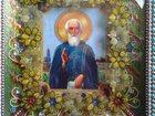 Фотография в   Картина выполнена из бисера на клей, в рамке. в Москве 20000