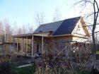 Изображение в   Продаю дачу с недостроенным домом из бруса, в Орехово-Зуево 750000