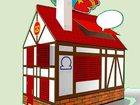 Фото в Развлечения и досуг Организация праздников Я в домике! Игровой домик-раскраска для детей. в Москве 3250
