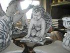 Фото в   Скульптура из бетона Амур с книгой (36кг) в Москве 3300