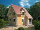 Скачать фото Строительство домов Дом по проекту «Меркурий-98» (каркасная технология) 33804328 в Москве