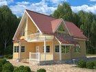 Скачать изображение Строительство домов Построим дом «под ключ» из бруса, проект «Марс-129» 33832401 в Москве