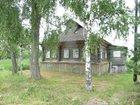 Уникальное фотографию Загородные дома Бревенчатый дом в деревне с хорошим подъездом, 270 км от МКАД 34411018 в Москве