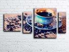 Фотография в   Картина из 4-х частей Чашка кофе. Также в Москве 0