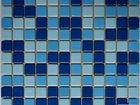 Изображение в   Мозаика стеклянная Синяя + Голубая + Голубая в Москве 800