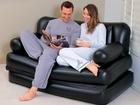 Увидеть фото Другое Надувной диван-кровать трансформер 35125878 в Москве