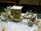 Изображение в Мебель и интерьер Антиквариат, предметы искусства Карета длина 50 см  ручная работа натуральное в Москве 0