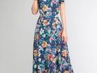 Смотреть изображение  Летние платье в пол из вискозы и бесплатной доставкой 35141309 в Москве
