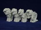 Свежее фото Детские игрушки Гипсовые фигурки для раскрашивания Пони 35244174 в Москве