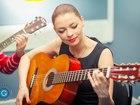 Фото в   Уроки игры на гитаре.   50 песен с нуля за в Москве 400