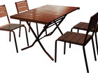 Скачать фото  Комплект складной мебели для уличного кафе 36942286 в Краснодаре