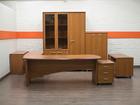 Смотреть изображение  Кабинеты руководителя б/у, офисная мебель эконом класса 37192528 в Москве