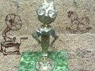 Фотография в Мебель и интерьер Другие предметы интерьера Бронзовая статуэтка выполнена методом художественного в Москве 2500