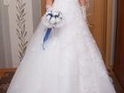 Увидеть foto Свадебные платья Продаю нежное свадебное платье 37379788 в Москве
