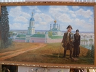 Изображение в   Продам картину маслом на холсте художника в Москве 95000