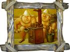 Фото в Мебель и интерьер Другие предметы интерьера Картины для бани представляют собой арт-постер в Москве 2900