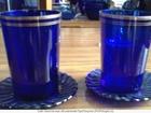 Свежее фотографию  посуда старинная синее стекло 37666181 в Тамбове