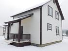 Новое фото Загородные дома Новый дом в деревне Чубарово, Калужское шоссе 67 км от МКАД, 139 м2, 8 соток, Газ, ИЖС, 37815687 в Москве