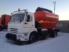 Просмотреть изображение Поливальная машина Поливомоечная машина ко 806 на шасси камаз 43253 38665203 в Москве