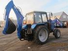 Уникальное фотографию Трактор Экскаватор-погрузчик ЭО-2626, ДТ, 1 на шасси трактора Беларус 82, 1 38665408 в Москве