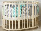 Уникальное фото  Стильные детские круглые кроватки 3в1 Incanto Gio от дизайнеров из Италии! 38701732 в Твери